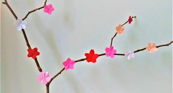 event image for Lunar New Year Origami Blooming with Cherry Blossom